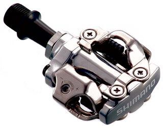 Shimano M540 Pedaler Sølv, SPD, 352 g. per sett