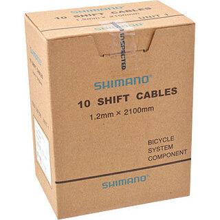 Shimano Standard Växelvajrar Låda 1,2 x 2000mm, 10 stk i en låda