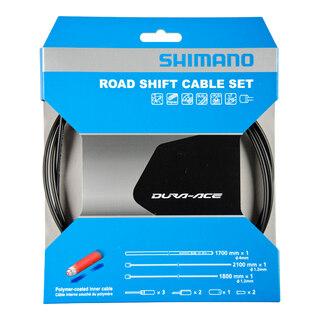 Shimano Dura Ace 9000 Växelvajerset Svart, Polymer-belagte wire