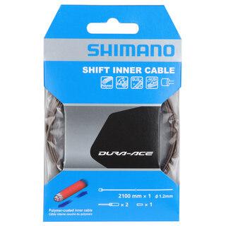 Shimano Dura Ace 9000 Växelvajer 1.2 x 2100mm, Polyermer-belagt