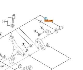 Shimano Mutter Til Racerbrems 18 mm, Frambrems