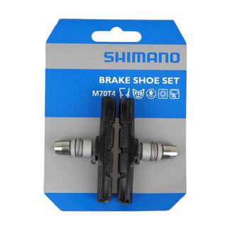 Shimano LX/Deore M70T4 Bromsklossar 1 par, För aluminiums fälg, 70mm