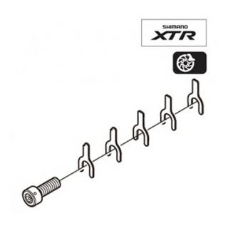 Shimano XTR Skivbroms 0,5mm Shims Shims för skivbroms