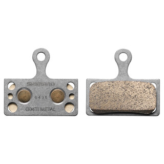 Shimano G04TI Metal Bremseklosser 1 sett, For XTR/XT/SLX/Alfine skivebrems