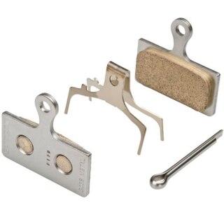 Shimano G04S Metal Bremseklosser 1 sett, For XTR/XT skivebrems