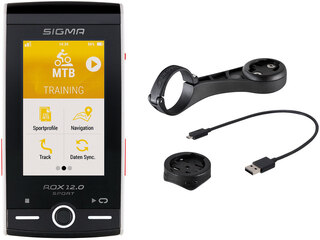 Sigma ROX 12.0 GPS Sykkelcomputer Grå, ANT+