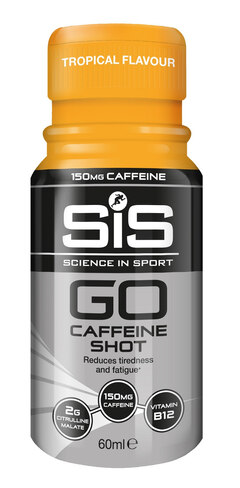 SIS GO Koffein Shot Tropisk, 1 stk, 60 ml