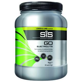 SIS GO Electrolyte Sportsdrikke Sitron & Lime, 1 kg