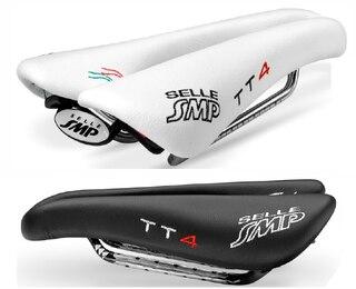Selle SMP TT4 Tempo/Bana Sadel Svart, 246 x 135mm, 295g