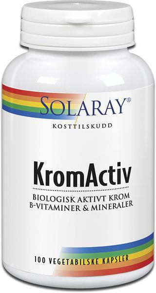 Solaray KromActiv Mineraltilskudd Demper behovet for søtsaker!