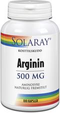 Solaray Arginin Aminosyrer For økt muskelmasse og immunforsvar!