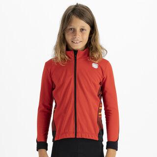Sportful Team Junior cykeljacka Röd, Str. 10 år