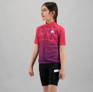 Sportful Super Girl Junior Cykeltröja Bubblegum, Str. 8år