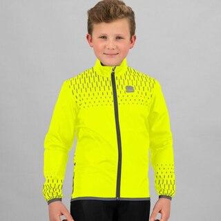 Sportful Kid Reflex Cykeljacka Gul, Str. 12år