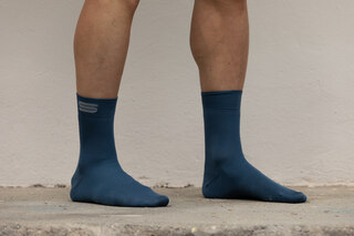 Sportful Matchy Lange Sokker Blue Sea, Str. M/L