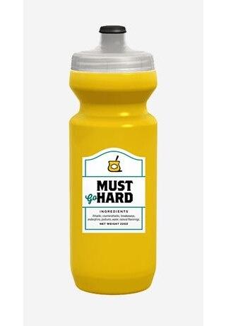 Spurcycle Must Go Hard! Flaske Gul, 650 ml