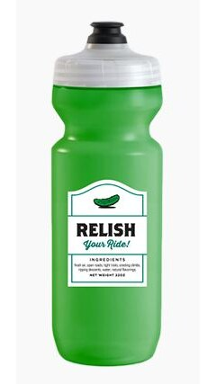 Spurcycle Relish Your Ride Flaske Grønn, 650 ml