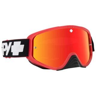 Spy Woot Race MX Brille Rød, For Enduro og DH