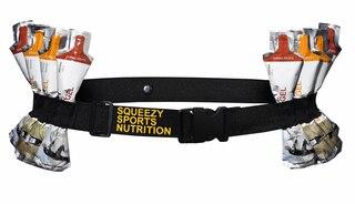 Squeezy Gel Belte Praktisk belte med plass til 8gel à 25g