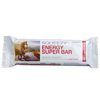 Squeezy Energy Bar Cherry, 50g