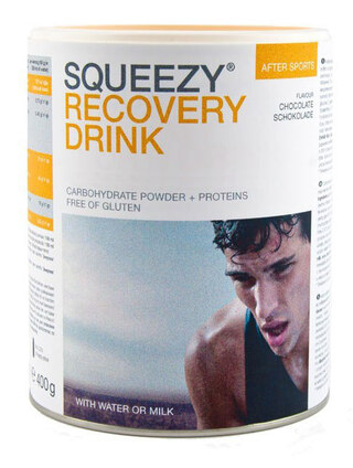 Squeezy Recovery Drink Sjokolade smak, 400g