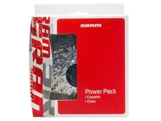Sram Power Pack PG-1050 Kassett & Kedja 10-växlar, 11-28T, PC-1031 Kedja