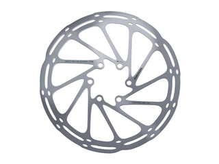 Sram Centerline 200 mm Bremseskive Sølv, 200 mm, 6-Bolt, Rundet kant