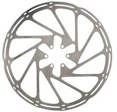 Sram Centerline 220 mm Bremseskive Sølv, 220 mm, 6-Bolt, Rundet kant
