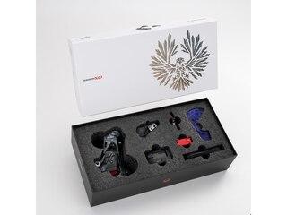 SRAM X01 Eagle AXS Upgrade Kit 2021 Rød, Bakgir, Kontroller, Lader ++