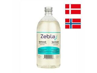 Zebla Sports Wash Vaskemiddel 1000 ml, lukt nøytraliserende løsning!