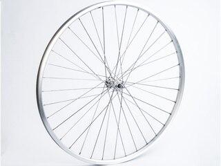 """Connect 700c Framhjul Sølv, 28"""", Aluminium, Bolter"""
