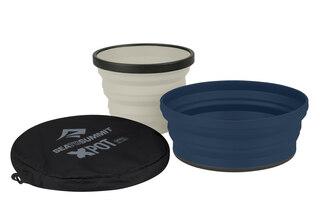 Sea To Summit X-Set 2 Bowl Set Navy Blue, X-Bowl och X-Mug