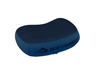 Sea To Summit Aeros Premium kudde Navy Blue, Regular