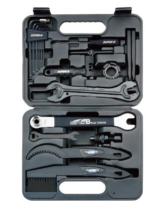 SuperB 95000 verktygsett Inkludert 20 verktyg