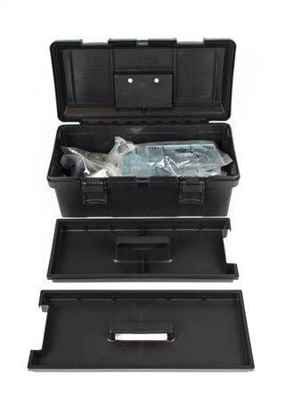 SuperB 98580 verktygkoffert Inkludert 38 verktyg
