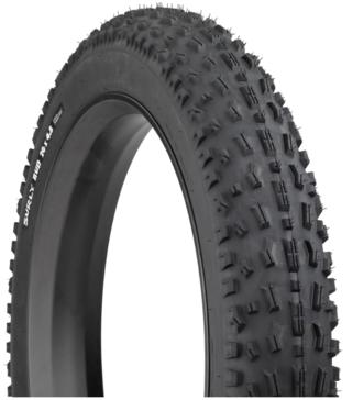 """Surly Bud Tire 26 X 4,8"""" Dekk 1600g, TL-Ready, Kongen av fatbikedekk!"""