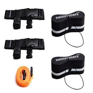 Swimrunners Guidance Pull Belt Teamkit Sort Pull Buoy - Oransje Stropp