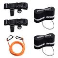 Swimrunners Support Pull Belt Teamkit Hurtigspenne og karabinkroker
