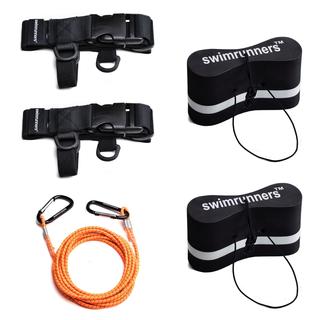 Swimrunners Support Pull Belt Teamkit Sort Pull Buoy, Str. M+M