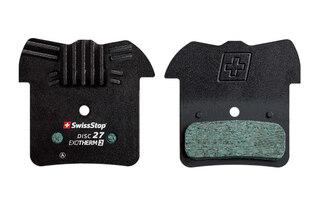 SwissStop Disc27 EXOTherm2 Bremseklosser Shimano, TRP, Organisk, Kjøleribber