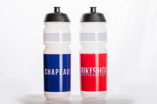 Tacx Shiva Chapeau 750 ml Flaska Transparent, biologiskt nedbrytbart