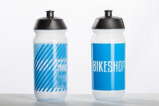 Tacx Shiva Bikeshop 500 ml Flaska Transparent, biologiskt nedbrytbart