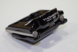 Thomson 7x10 mm Sadelrails Klemmesett Sort