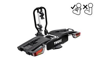 Thule EasyFold XT Sykkelstativ 2 sykler Fix4Bike feste, Fullt sammenleggbar!