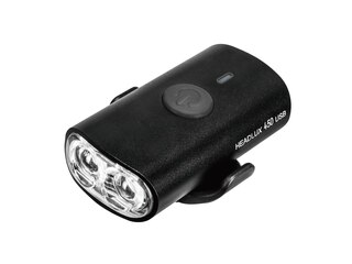 Topeak Headlux 450 Frontlys 450 lumen, USB oppladbart