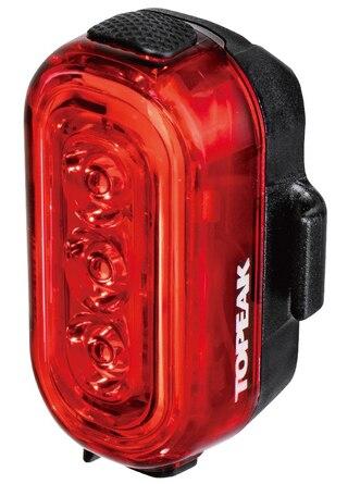 Topeak Taillux 100 Baklys 100 lumen, USB oppladbart