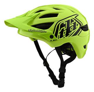 Troy Lee Designs A1 Youth Hjelm Neon Grønn