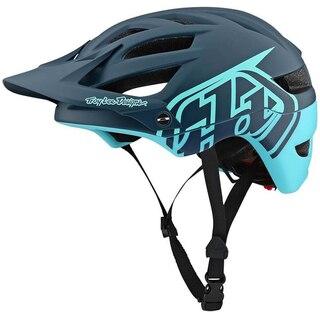 Troy Lee Designs A1 MIPS Classic Hjelm Gray/Aqua, Str. XS/S