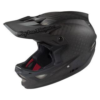 Troy Lee Designs D3 Carbon Mips Hjelm Midnight Black
