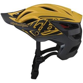 Troy Lee Designs A3 MIPS Hjelm Uno Yellow, Enduro Terrenghjelm